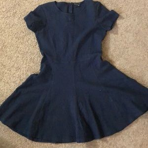 Theory dress navy blue